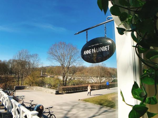【オスロの素敵カフェ】Anne på landet @ヴィーゲラン彫刻公園