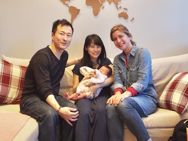 助産師さんの家庭訪問&再び病院へ…