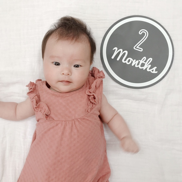 祝2ヶ月…眠り姫!