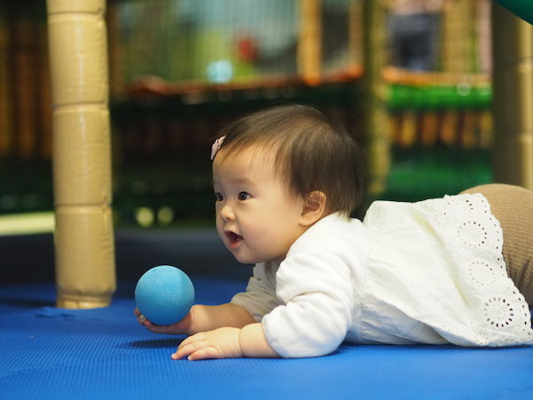 【8ヶ月娘】大型遊具でグングン成長|Leo's Lekeland
